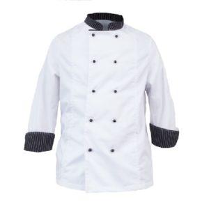 bluza za ugostiteljstvo bijela