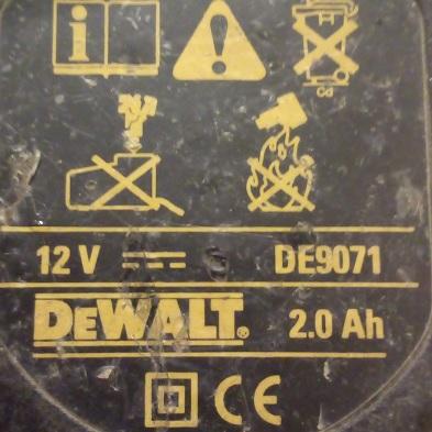 Baterija Dewalt