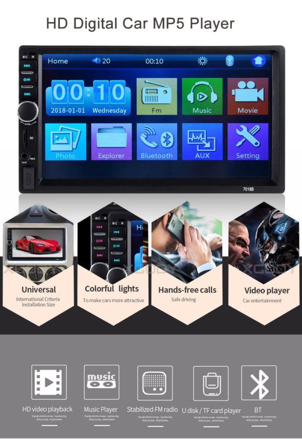 TV Video Multimedijski prijamnik za auto