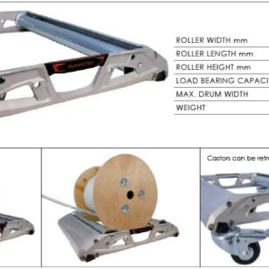 nosač s valjcima za odmotavanje kabela