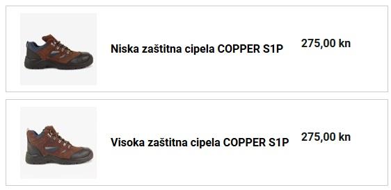 zaštitna cipela COPPER