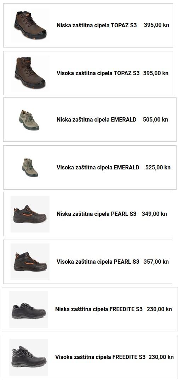 zaštitna cipela EMERALD