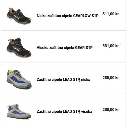 zaštitna cipela visoka niska