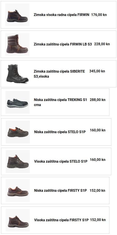 zaštitna cipela STELO