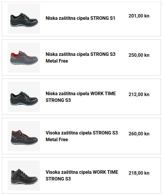 aštitna cipela STRONG S3